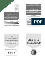 Asexuales Chile (2017). Mini-zine de Asexuales Chile(1)