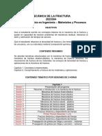 0 Prog Mecanica de La Fractura II 2016