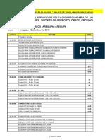Planilla de Metrado Administracion 2