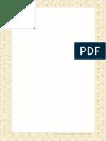 Hojas de Papel Decoradas Para Imprimir en PDF