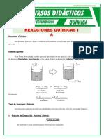 Reacciones quimica