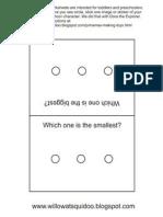 Photo Album Sticker Worksheets 1
