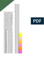 Color Codes as Hexadecimal