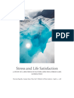 Stress and Life Satisfaction