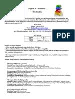 course syllabus english iv fall 2019