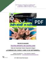 TEATRO DE LA SENSACIÓN-Taller Infantil de Improvisacion Teatral 2019-020 Con Ficha de Inscripción