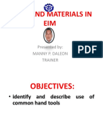 Tools and Materials in Eim by Daleon