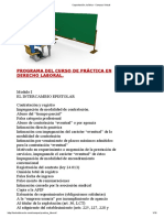 Programa del curso practico laboral