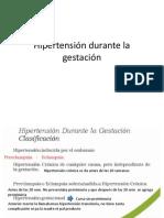 Hipertensión Durante La Gestación