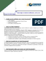 Acerca de Carta Documento