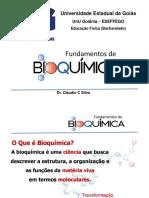 Fundamentos de Bioquimica - Aula 01