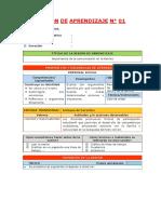 2.- Sesiones de Aprendizaje - Unidad Didáctica III - Editora Quipus Perú