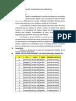 Plan de Compensacion Ambiental Bilingue
