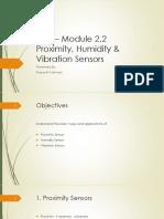 DAS – Module 2.2_ Proximity, Humidity and Vibration Sensors