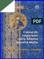 Canon de Rugăciune Către Sfântul Apostol Matia