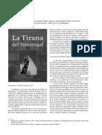 La Tirana Del Tamarugal Lautaro Nunez Atencio Univ