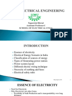 Introduction to Electrical Energy(Module-I)