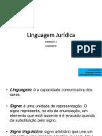 linguagem Jurídica