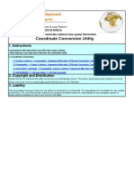 CDNGI Coordinate Conversion Utility v1 Sep 2009
