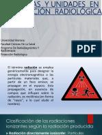 MEDIDAS  Y UNIDADES  EN PROTECCIÓN  RADIOLÓGICA.pptx