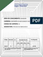 PROCESO DE FABRICACIÓN II..docx