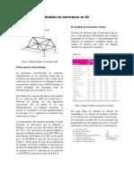 Análisis de Estructuras en 3D