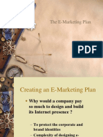5. Perencanaan Web (Web Plan) - E-Marketing Plan