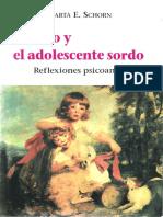 El niño y el adolescente sordo. Reflexiones psicoanalíticas [Marta E. Schorn] (2).pdf