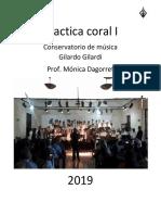 Practica coral nivel inicial
