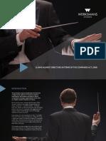 Werksmans Directors Liability Booklet