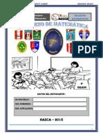EXAMEN CONCURSO 2° 2018 TALENTOS MATEMATICOS
