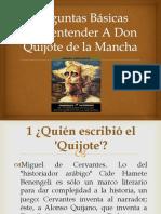 50 Preguntas Básicas Para Entender a Don Quijote