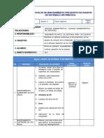 Protocolo de mantenimiento de equipos de sistemas e informatica.pdf