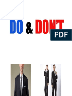 5 Things You Should Not Do Before Interview