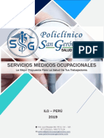 Brochure San Geronimo 2019