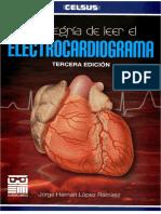 La Alegría de Leer El Electrocardiograma López 3 Ed 2012