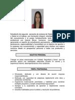 Hoja de Vida Laura Alejandra Laverde Bernal