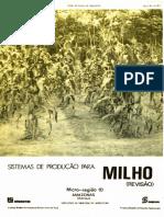 Emater Documentos 188 Sistema de Producao Para Milho