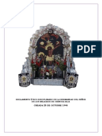 Reglamento Etico Disciplinario de La Hermandad Del Señor de Los Milagros de Chincha Baja