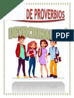 Devocionales Libro de Proverbios 1