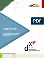 ZeitplanDSD-PrüfungC1Termin2