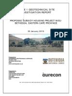App D2 - Geotechnical Report