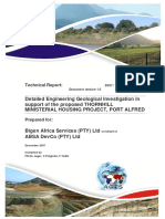 Housing Geotechnical Report