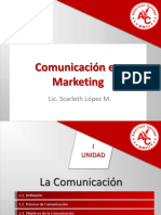 Comunicación en Marketing CLASE 1