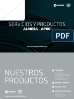 Almesa product catalogue