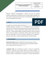 Programa Para La Gestión Integral de Residuos Sólidos (Pgirs)
