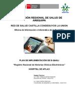 Modelo de Plan de Implementacion Eqhali Hospital de Aplao
