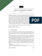 Biofeedback and Brain Activity
