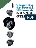 Catálogo O Maior Ator Do Brasil - 100 Anos de Grande Othelo