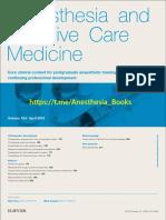 @Anesthesia Books 2018 Anaesthesia